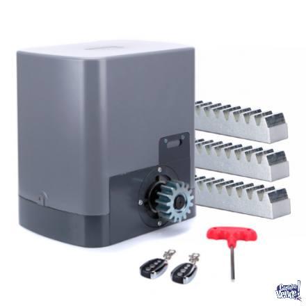 Motor Portón Corredizo 1000 Kg-Piñón Acero-Baño de Aceit
