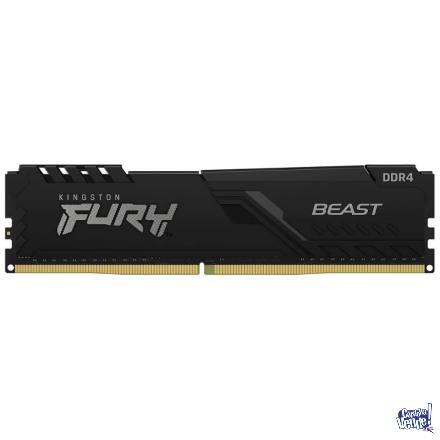 Memoria RAM Kingston Fury Beast 16GB 3200MHz en Argentina Vende