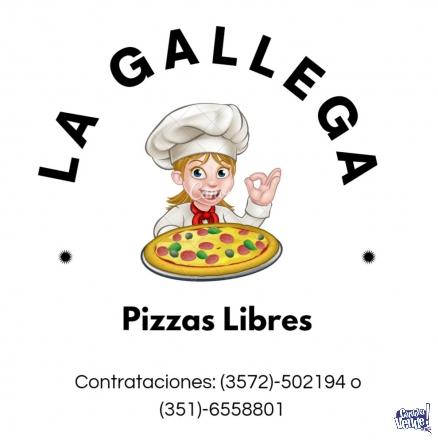 PIZZAS PARTY LIBRE!  en Argentina Vende