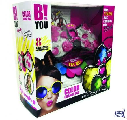 B! You Cartera Fashion Cambia De Color Con Tu Ropa