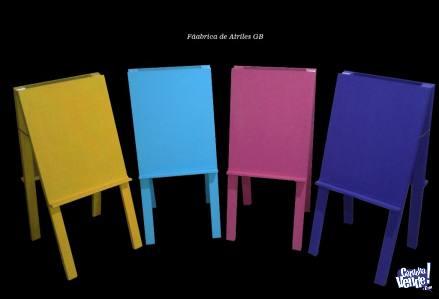 Atriles Dobles para dibujo - de Colores!!!!!
