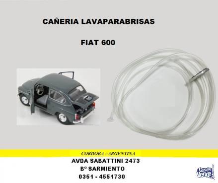 MANGUERA LAVAPARABRISAS FIAT 600