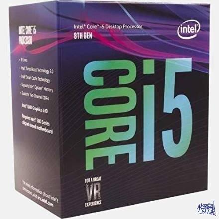 Procesador Intel Core I5-8400 8va Socket 1151 V2 6 Nucleos