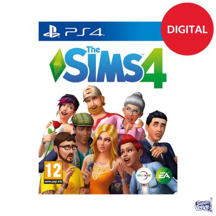 THE SIMS 4 PS4 DIGITAL