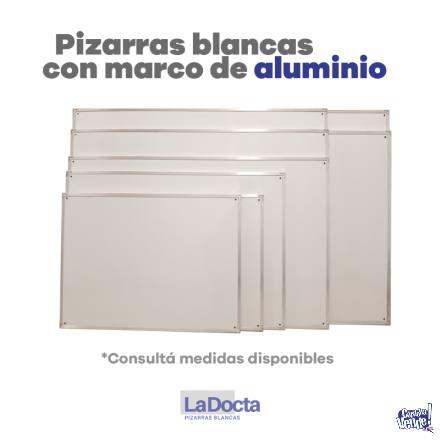 PIZARRAS BLANCAS 120x180cm – Marco de Aluminio (Nueva Cba.