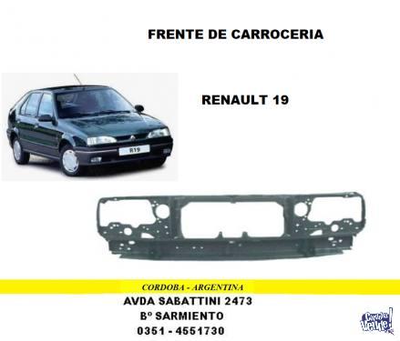 FRENTE RENAULT 19