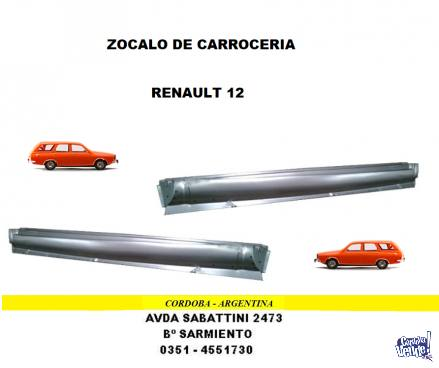 ZOCALO RENAULT 12