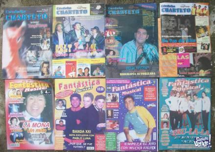 Lote de Revistas de Musica Cuartetera en Argentina Vende