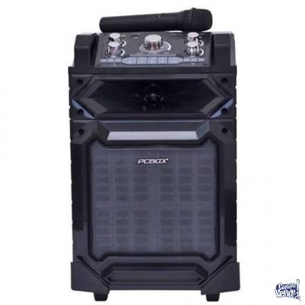 Parlante PcBox Cure + Microfono / 15 Hrs de Bateria !