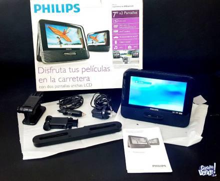 REPRODUCTOR DE DVD PORTÁTIL PHILIPS - PD7013 (LCD 7 en Argentina Vende