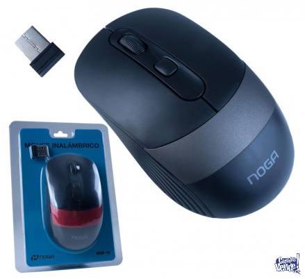 Mouse Inalámbrico Usb Noga Ngm-18