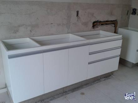 muebles para cocina melamina
