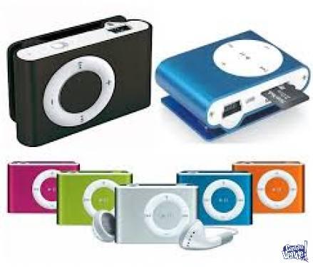 MP3 CON AURICULAR Y CABLE PARA CARGAR - MINI REPRODUCTOR
