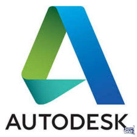 AUTODESK AUTOCAD-3DMAX-CIVIL-MAP-REVIT- ETC.. TODA LA SUITE