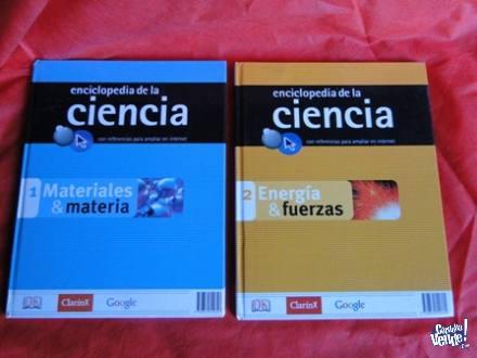 ENCICLOPEDIA DE LA CIENCIA 6 TOMOS CLARIN-GOOGLE en Argentina Vende