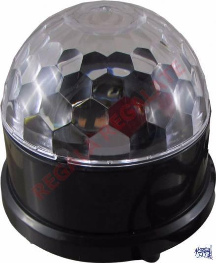 Esfera Led Parlante con Luces MP3 control remoto