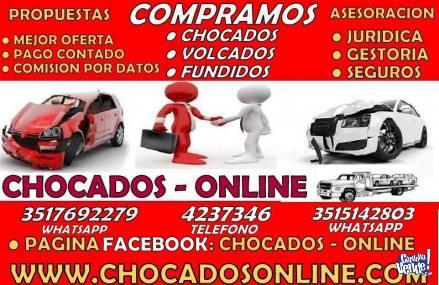 Chocados - Online: COMPRAMOS SU VEHICULO!