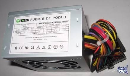 FUENTE PC SLIM M-LOGIC - 600W - DX-ATX600