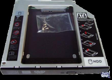 Disco Secundario P/Notebook Caddy HDD/SSD