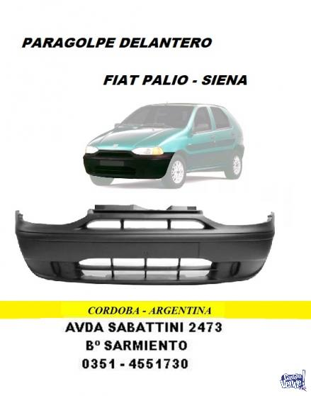 PARAGOLPE FIAT PALIO DELANTERO M-V
