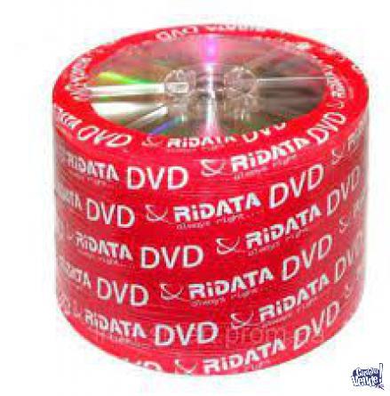 dvd virgen ridata 16x -r 100 unidades en Argentina Vende