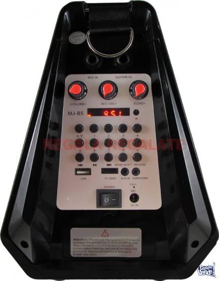 Parlante Portatil Bluetooth FM MP3 ORYX MJ-B5 X 4 UNIDADE