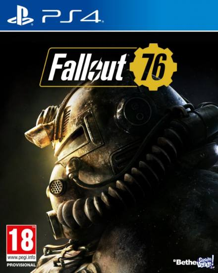 FALLOUT 76 PS4 NUEVO
