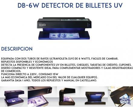 Detector billetes falsos Dasa DB6W portátil luz UV Córdoba