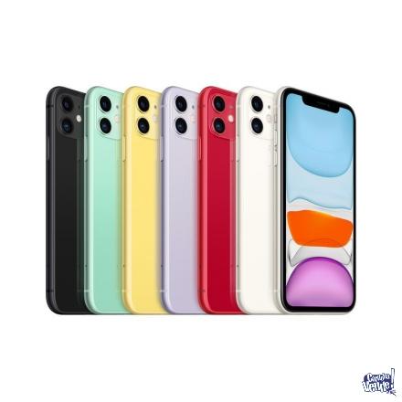 IPHONE 11 /64GB/CAMDUAL12+12MPX/NUEVO/SELLADOS/GTIA!!