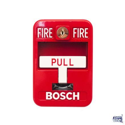 Pulsador Bosch Palanca - Con Llave - Alarma Incendio