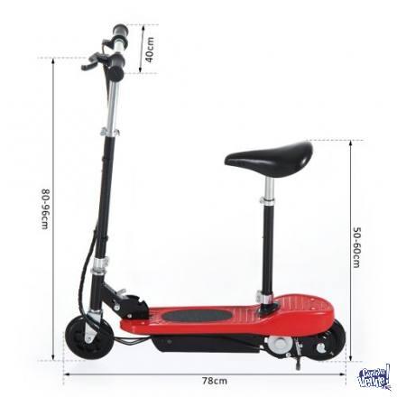 Monopatín Eléctrico Parsom Scooter Con Asiento Plegable Ki