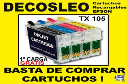 Cartucho Recargable Epson C67,cx 3700, Cx4100, Cx 4700 en Argentina Vende