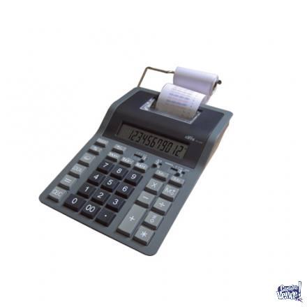 Calculadora Con Impresor papel Cifra Pr1200 Bicolor (1110)