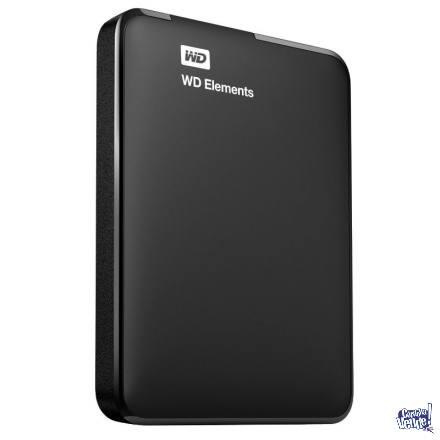 Disco Externo Wd Elements 1tb Usb 3.0 Envios Garantia