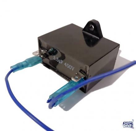 Capacitor 3.5uF - 450V Motor Ventilador/aire Acondicionado..