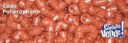 accesorios polipropileno rosca ips agua