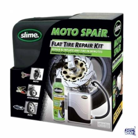 Kit Reparación Slime Con Compresor. En Baccola Motos Cba.