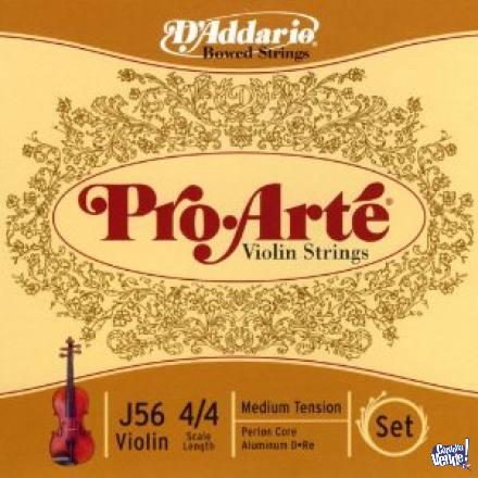 Encordado para Violin D'Addario PRO ARTE