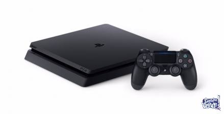 PLAY STATION 4 SLIM 1TB + Joystick+ FIFA 2019