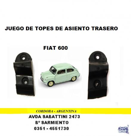 TOPE ASIENTO FIAT 600