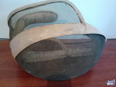 antigua mascara de esgrima , 156200066  ver descripcion