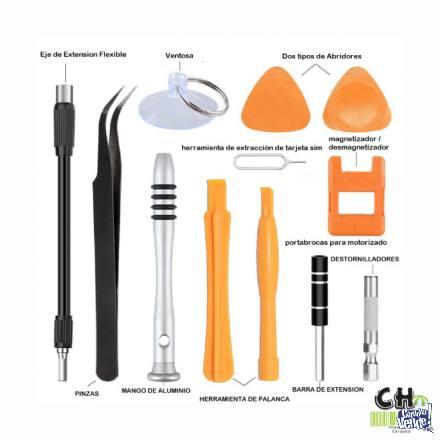 Kit de Destornilladores - Celulares Notebook PC