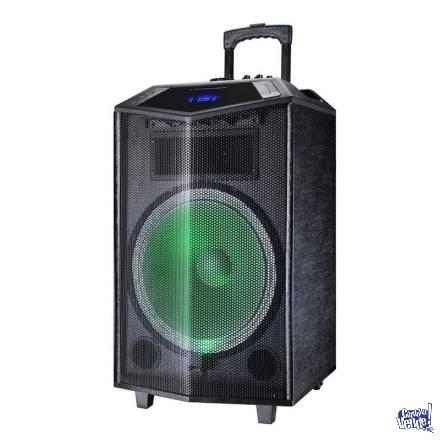 Parlante Portátil 15 Tgw Micr07 Batería Bluetooth Karaoke