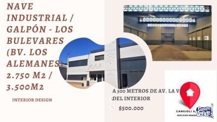 ALQUILER DE NAVE INDUSTRIAL en Argentina Vende