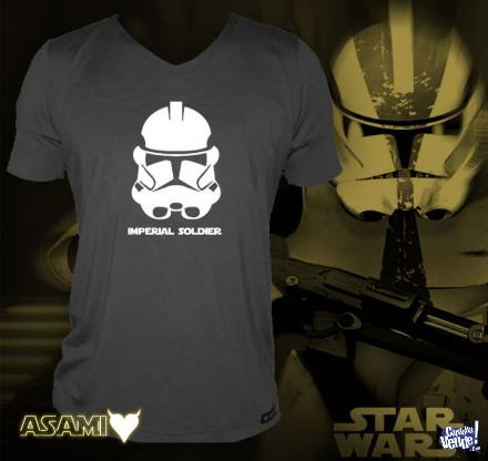Remera Entallada Star Wars