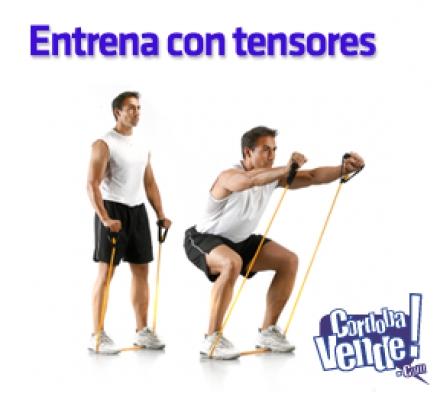 Banda Elastica simple y Reforzada Ejercicio Fitness dif. med