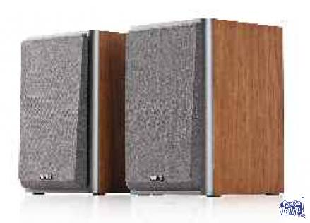 Parlantes EDIFIER 2.0 R 1000 T4 BROWN WOOD
