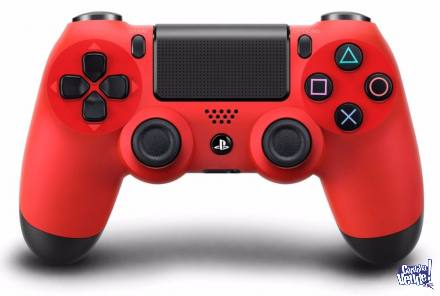 Joystick Ps4 Sony Dualshock Playstation 4 Red Version