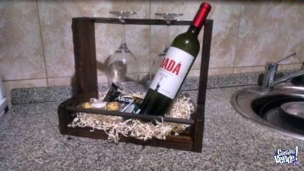 Vinoteca rustica regalo dia del padre