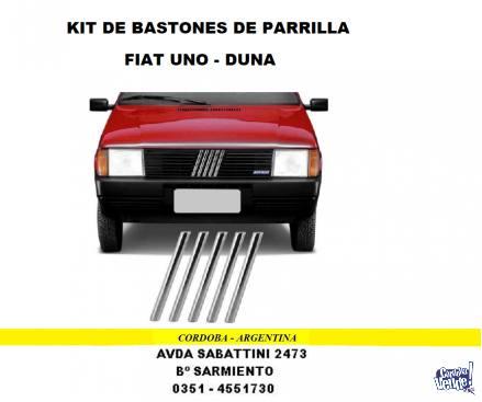 JUEGO BASTON DE PARRILLA DE FRENTE FIAT